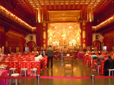 Loved this beautiful Chinese temple that we stumbled into randomly