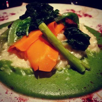 Wonderful risotto at Ottimo