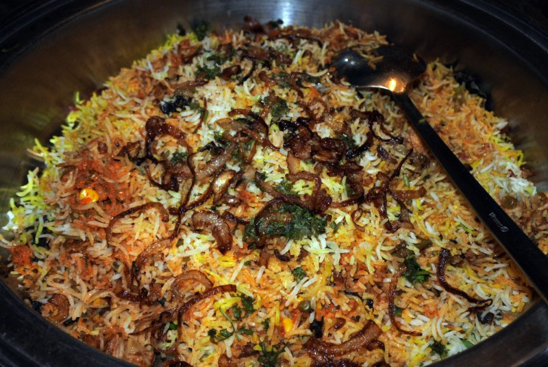 This biriyani hit the sweet spot