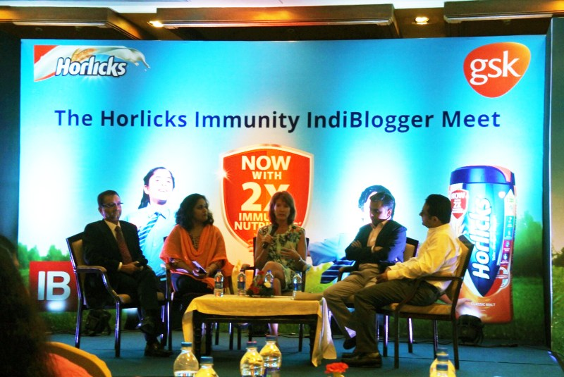 Panel discussion on India's nutrition problems