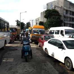 More traffic jams
