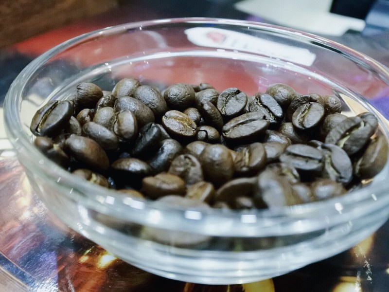 Divine smelling roasted coffee beans