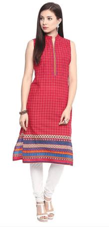 Jaipur Kurti Rani Cotton Embroidered Kurta