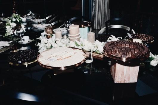 Bunch of chocolates on display