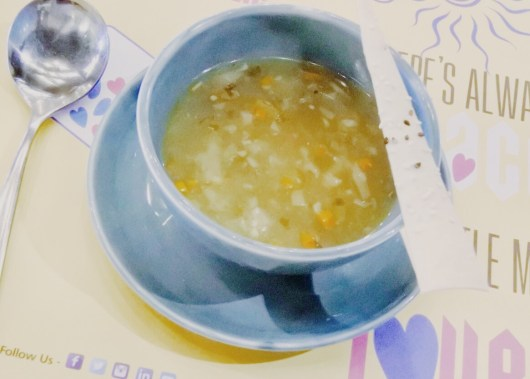 Chicken hot and sour soup