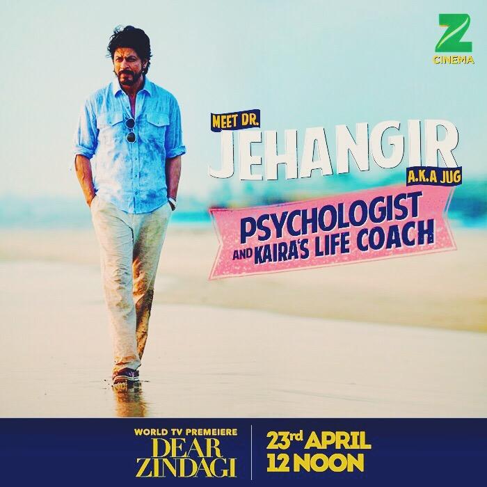 Meet Shah Rukh as Dr. Jehangir