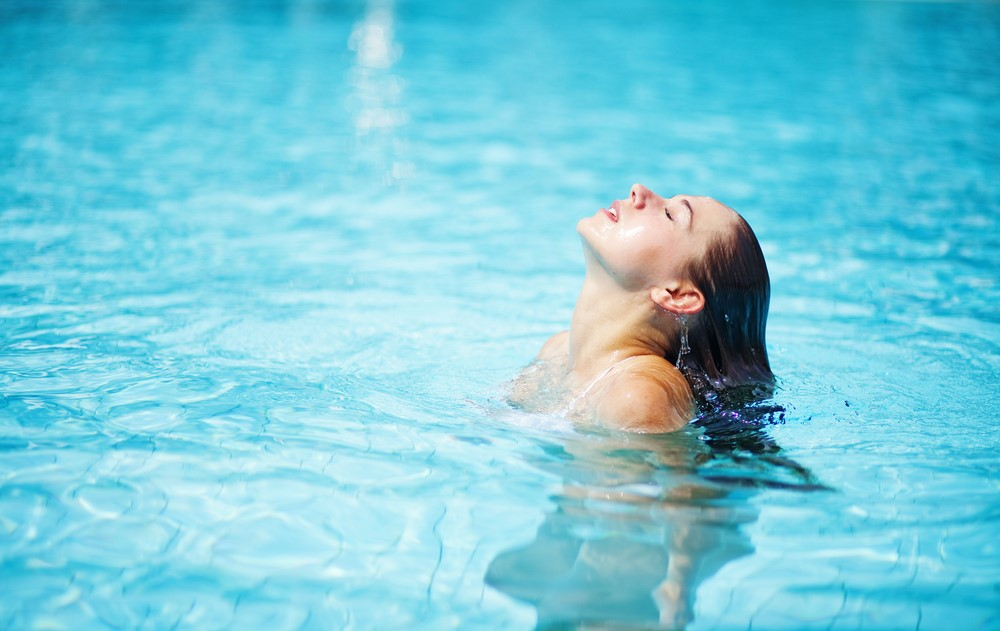 Swimming is a fantastic summer exercise