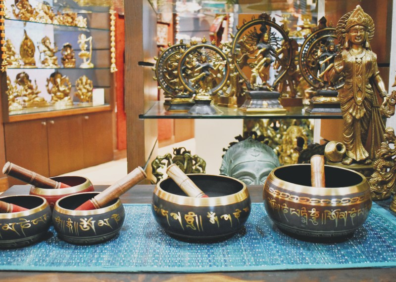 Intricately carved bowls
