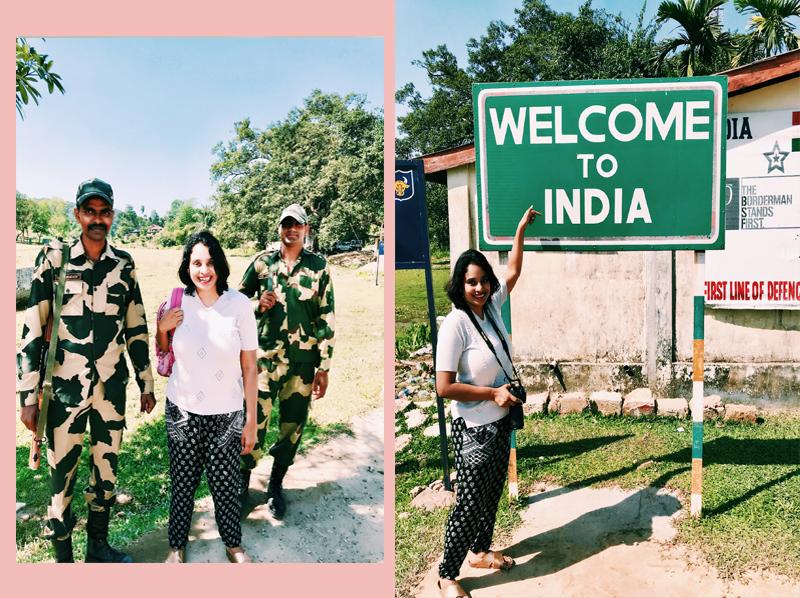 The Indo-Bangla border