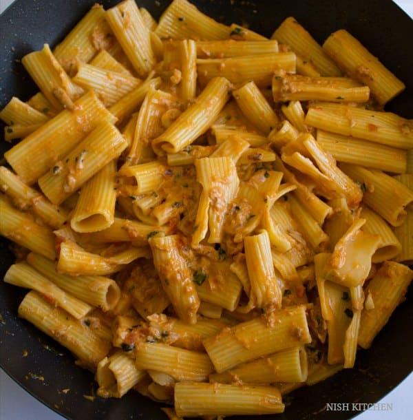 Creamy tomato tuna pasta recipe 4