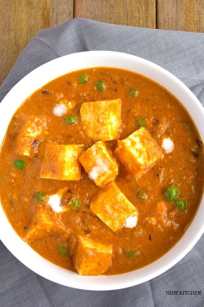 paneer butter masala recipe 1