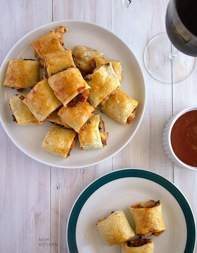 best vegetarian sausage rolls recipe