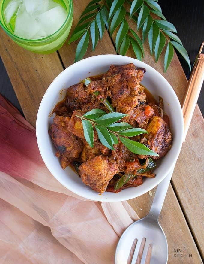kerala chicken roast recipe