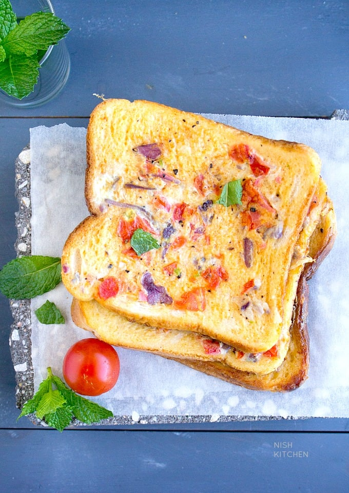 masala french toast recipe with video