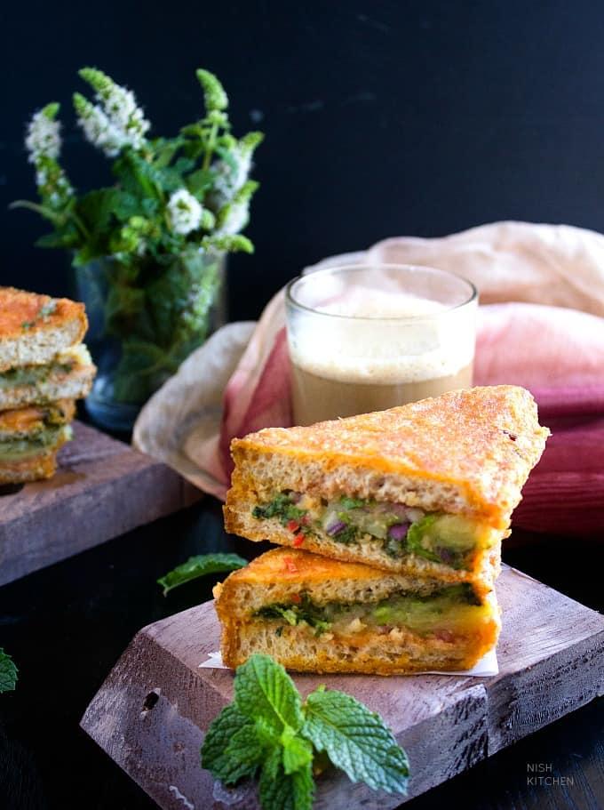 stuffed bread pakora video recipe