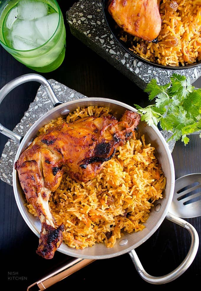 Chicken kabsa arabian chicken and rice video nish kitchen chicken kabsa recipe video forumfinder Gallery
