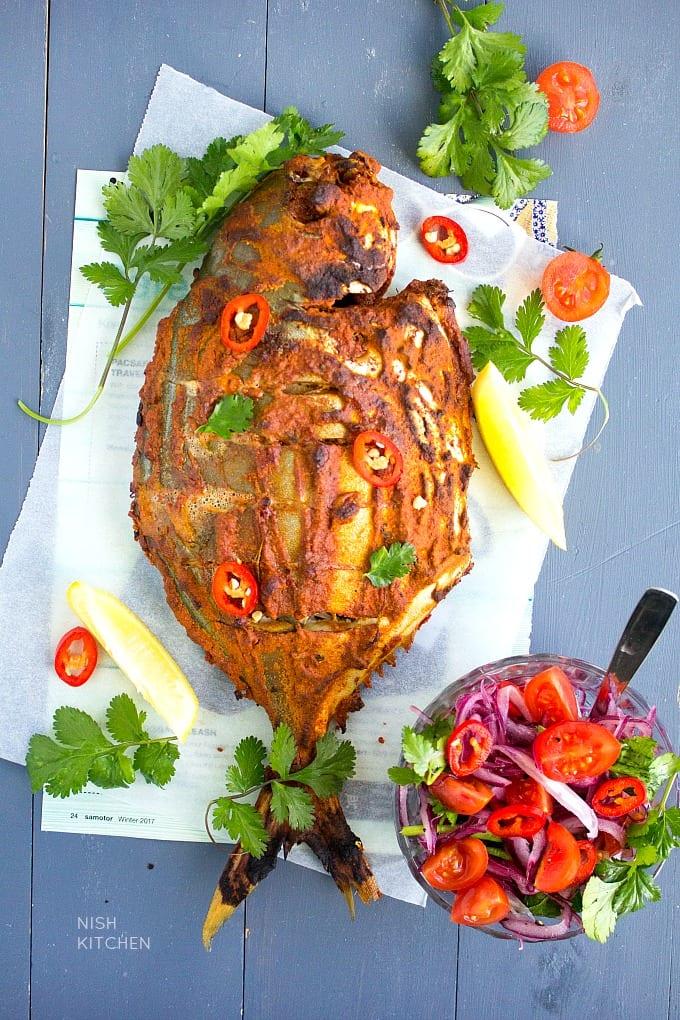 baked tandoori fish recipe