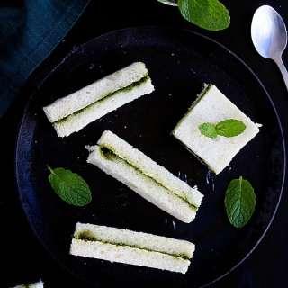 green chutney sandwich recipe video