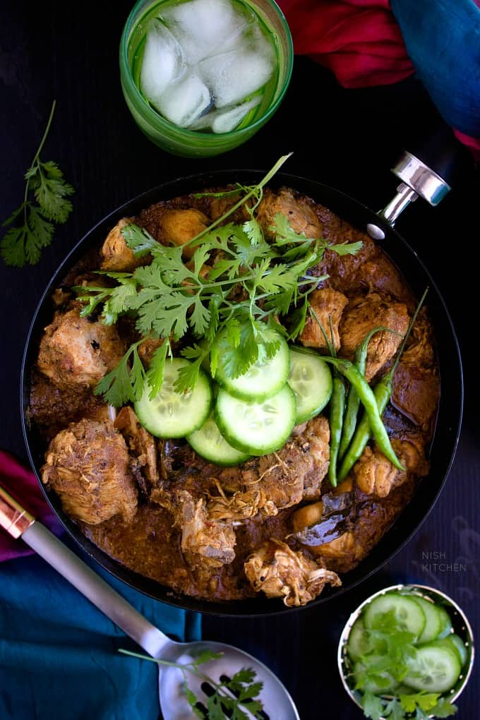 Indian chicken curry restaurant style video nish kitchen indian chicken curry recipe video forumfinder Choice Image