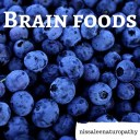 Brain foods blueberries