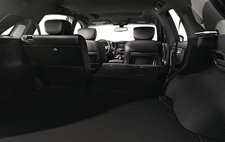 2015 Infiniti QX70 interior