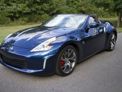 2015 nissan 370Z front view