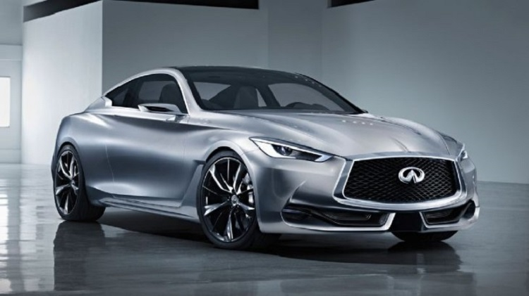 2016 Infiniti Q60 coupe front view