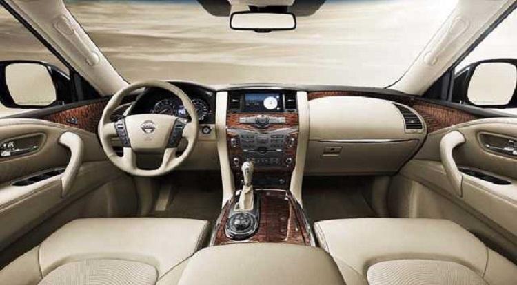 2016 Nissan Patrol interior