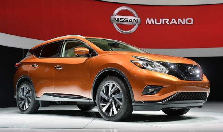 2017 nissan murano front view