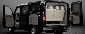 2015 Nissan NV passenger rear view
