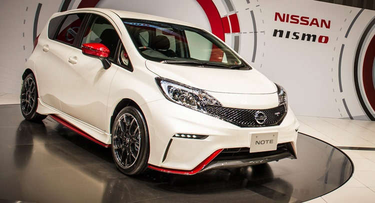 2015 Nissan Note Nismo front view
