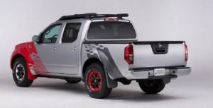 Nissan Frontier Diesel Runner rear view