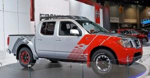 Nissan Frontier Diesel Runner side view