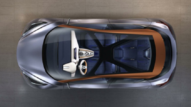 Nissan Sway Concept top view