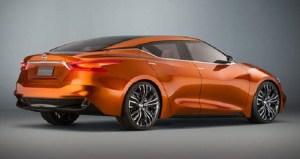 2017 Nissan Maxima Nismo rear view
