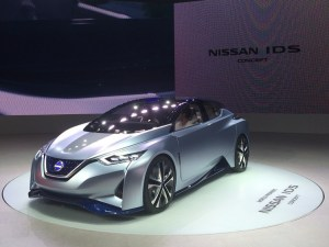 nissan ids concept front view
