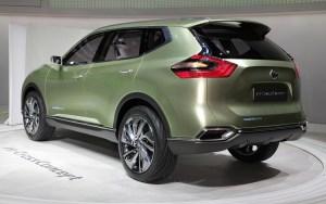Nissan Hi-Cross concept rear view