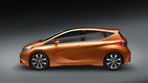 Nissan Invitation concept side view