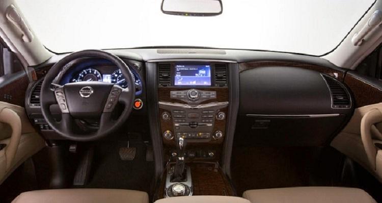 2018 Nissan Armada interior