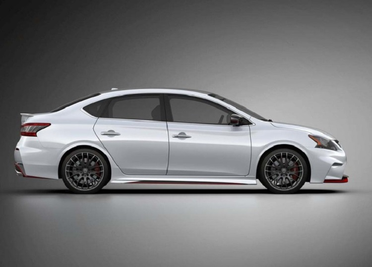 2018 Nissan Sentra Nismo side view