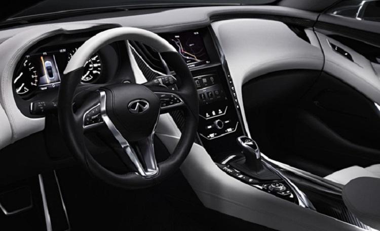 2019 Infiniti Q50 interior