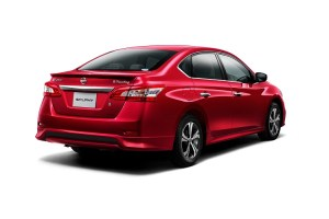 2017 Nissan Sylphy rear view
