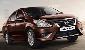 2018 Nissan Sunny front view