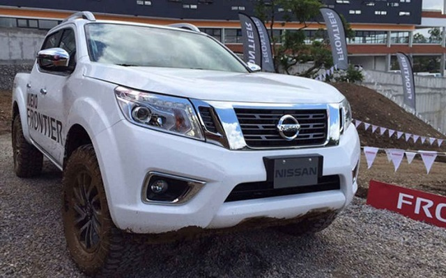 2019 Nissan Frontier front view