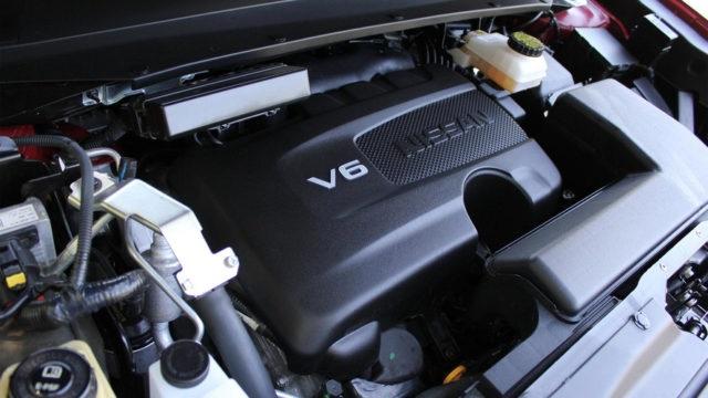 2019 Nissan Titan engine