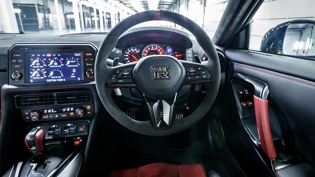 2019 Nissan GT-R Nismo interior
