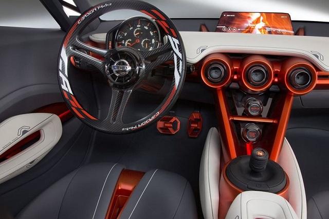 2019 Nissan 400Z interior