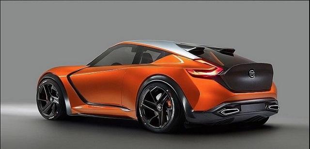 Nissan Z rear view