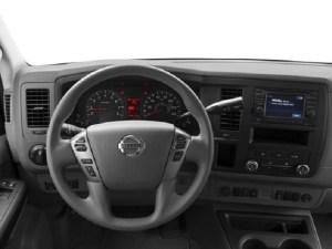 Nissan NV Passenger dashboard