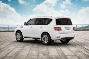 2019 Nissan Patrol rear view